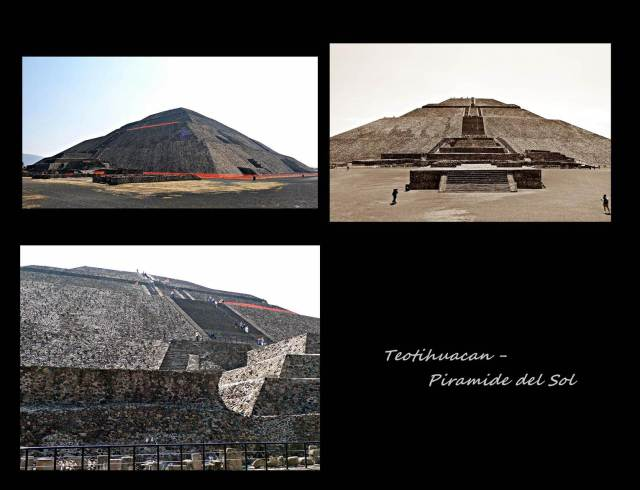 12 - Teotihuacan Piramid of the sun (Large)