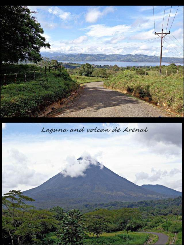15 - Volcan and laguna de Arenal (Large)