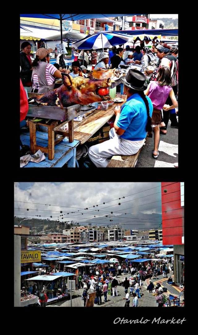 5 - Otavalo Market (Large)