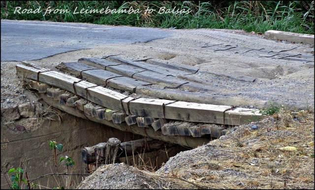 12b - Road between Leimebamba to Balsas 2  (Large)