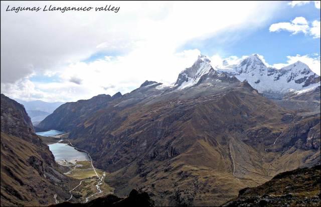 26 - Cordillera Blanca with Laguna Llanganuca. (Large)