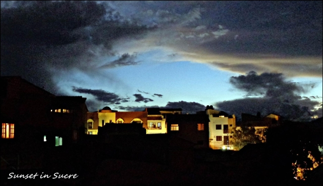 65 - Sunset in sucre (Large)