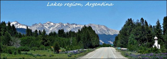 74 - Lake region Argentina (Large)