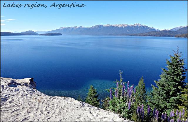 78 - Lake region Argentina (Large)