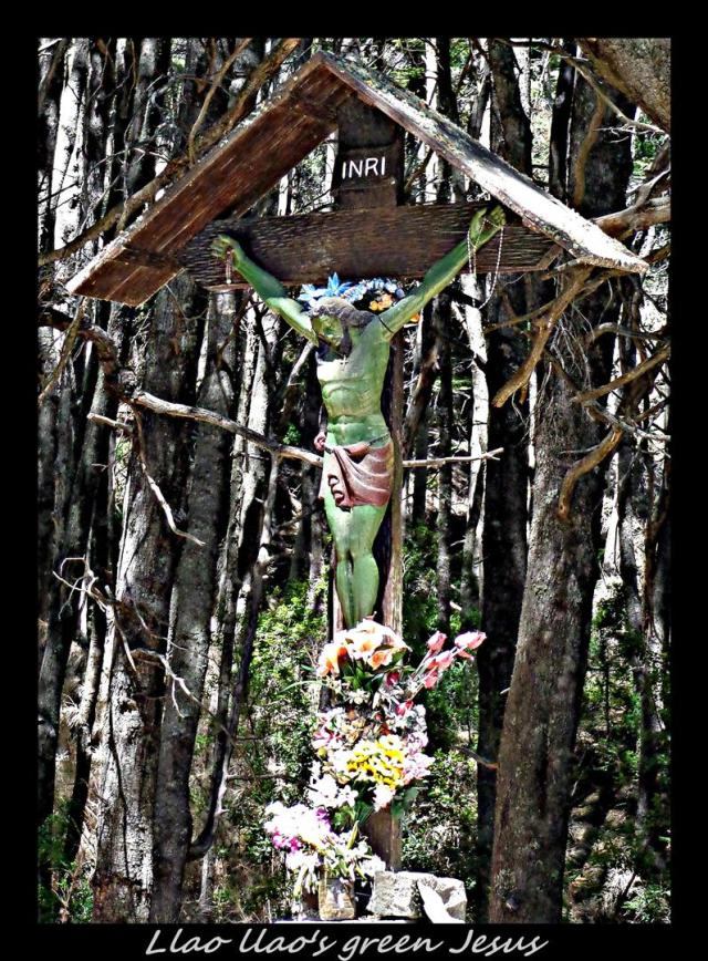 84 - Llao llao's green Jesus (Large)